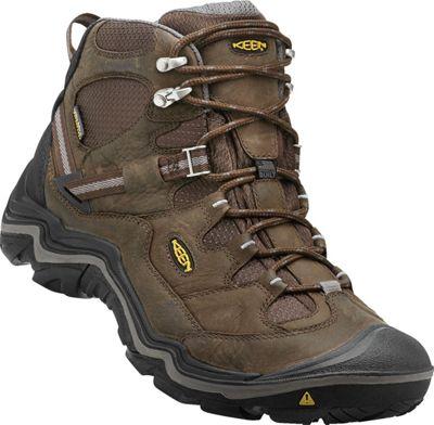 Keen Mens Durand Mid WP Hiking Boot 10 - Cascade Brown/Ga...