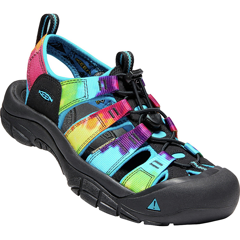 KEEN Mens Newport Retro Sandals 9 - Original Tie Dye - KEEN Mens Footwear - Apparel & Footwear, Men's Footwear