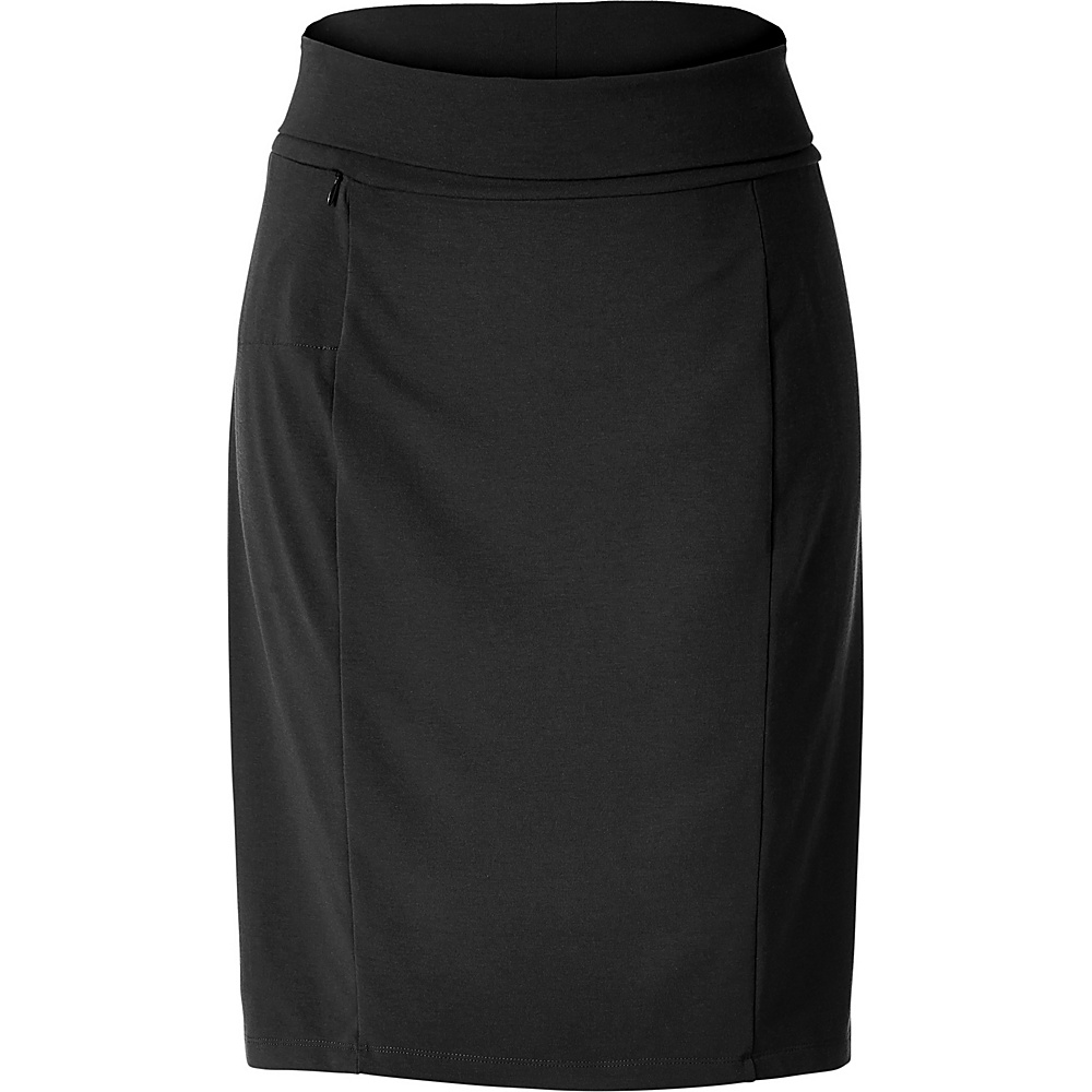 Royal Robbins Womens All-Around Skirt S - Jet Black - Royal Robbins Womens Apparel - Apparel & Footwear, Women's Apparel
