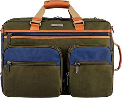 Monyker JW Convertible Weekender Duffel Olive - Monyker Travel Backpacks