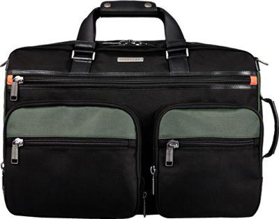 Monyker JW Convertible Weekender Duffel Black - Monyker Travel Backpacks