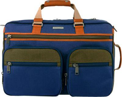Monyker JW Convertible Weekender Duffel Blue - Monyker Travel Backpacks