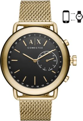 A/X Armani Exchange AIX Mens Hybrid Smartwatch Gold - A/X...