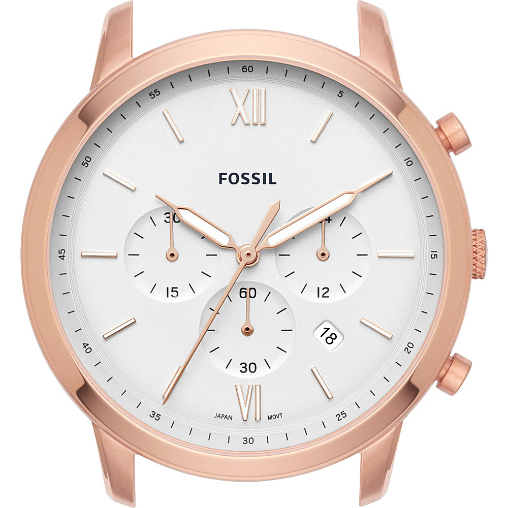 Fossil Neutra Chronograph Rose Gold-Tone Stainless Steel Watch Case Rose Gold - Fossil Watches - Fashion Accessories, Watches