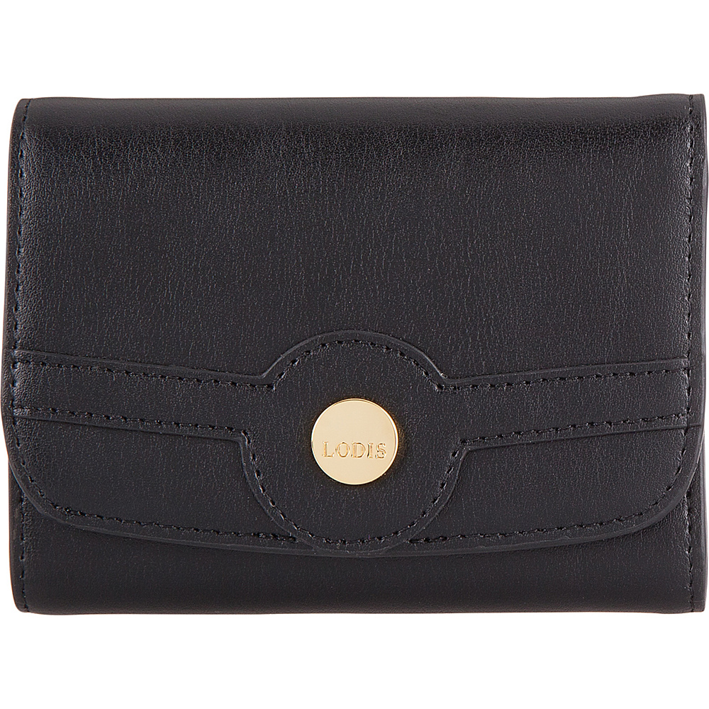 Lodis Rodeo RFID Mallory French Purse Black - Lodis Womens Wallets - Women's SLG, Women's Wallets