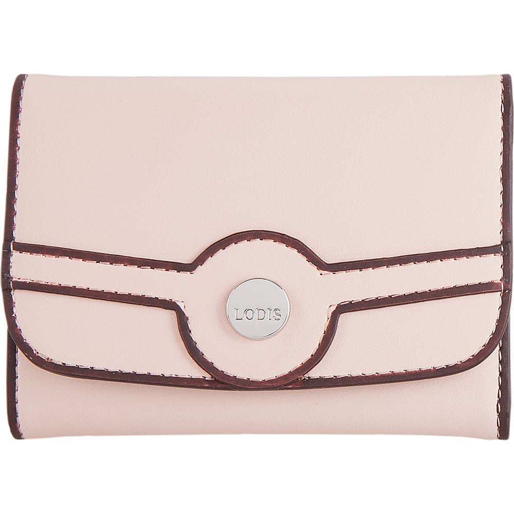 Lodis Rodeo RFID Mallory French Purse Blush - Lodis Womens Wallets - Women's SLG, Women's Wallets