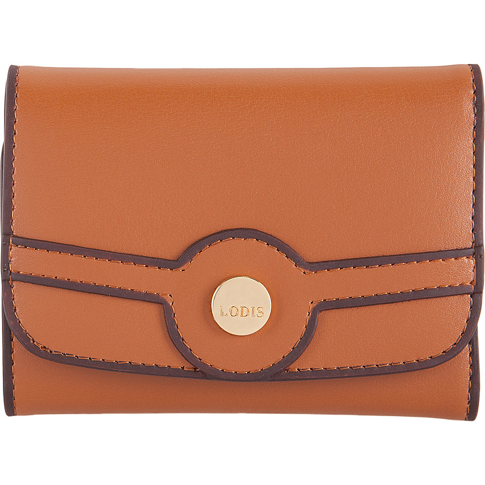 Lodis Rodeo RFID Mallory French Purse Toffee - Lodis Womens Wallets - Women's SLG, Women's Wallets