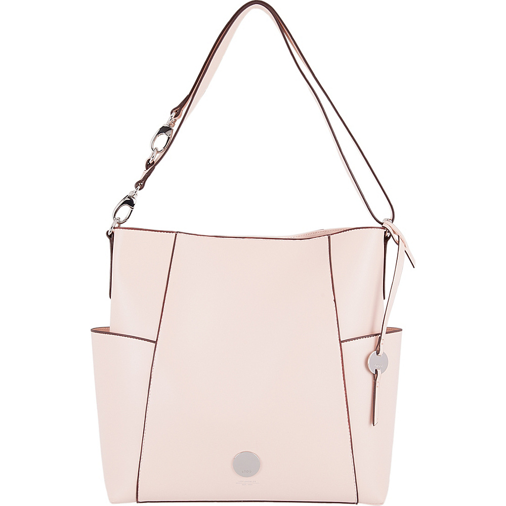 Lodis Rodeo RFID Jessie Bucket Blush - Lodis Leather Handbags - Handbags, Leather Handbags