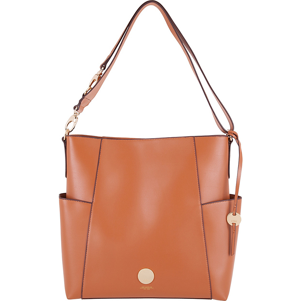Lodis Rodeo RFID Jessie Bucket Toffee - Lodis Leather Handbags - Handbags, Leather Handbags