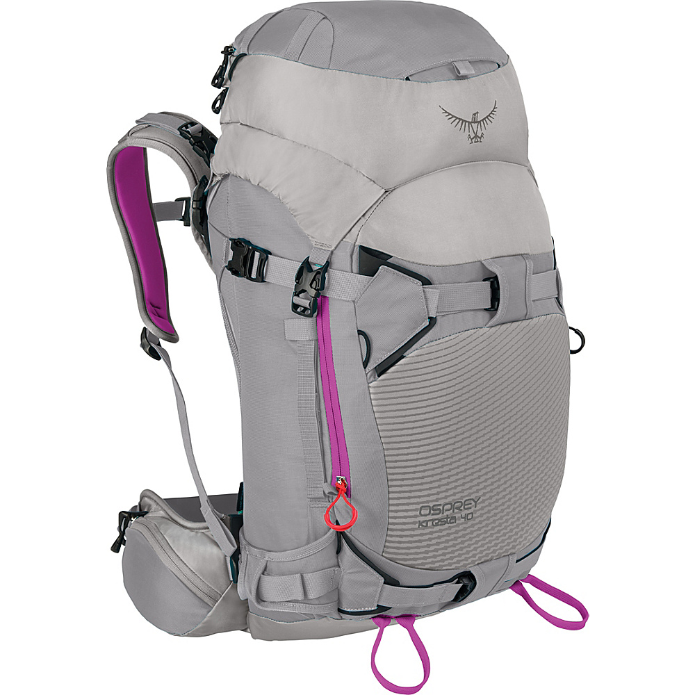 Osprey Kresta 40 Hiking Backpack Twilight Grey – S/M - Osprey Day Hiking Backpacks - Outdoor, Day Hiking Backpacks