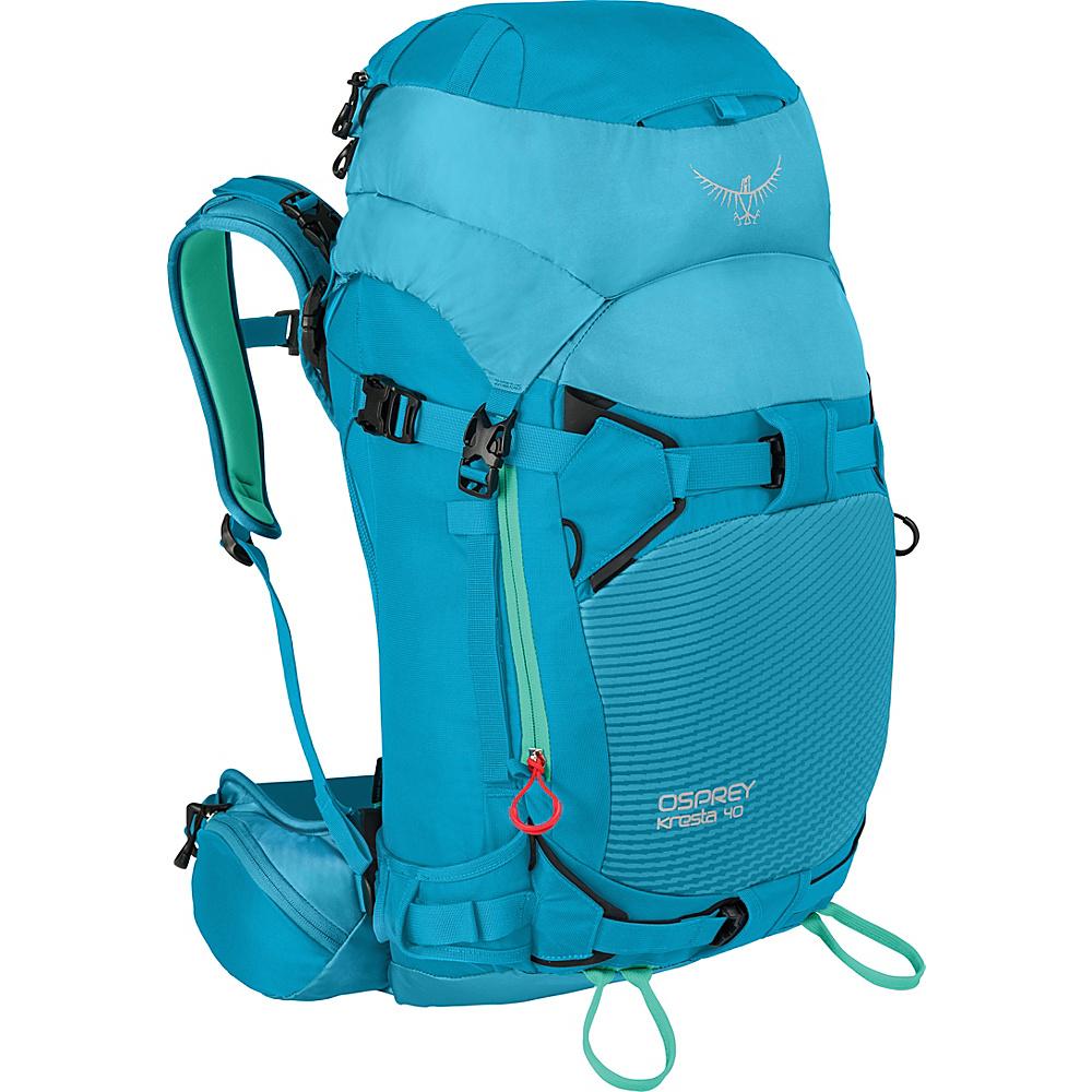 Osprey Kresta 40 Hiking Backpack Powder Blue – XS/S - Osprey Day Hiking Backpacks - Outdoor, Day Hiking Backpacks