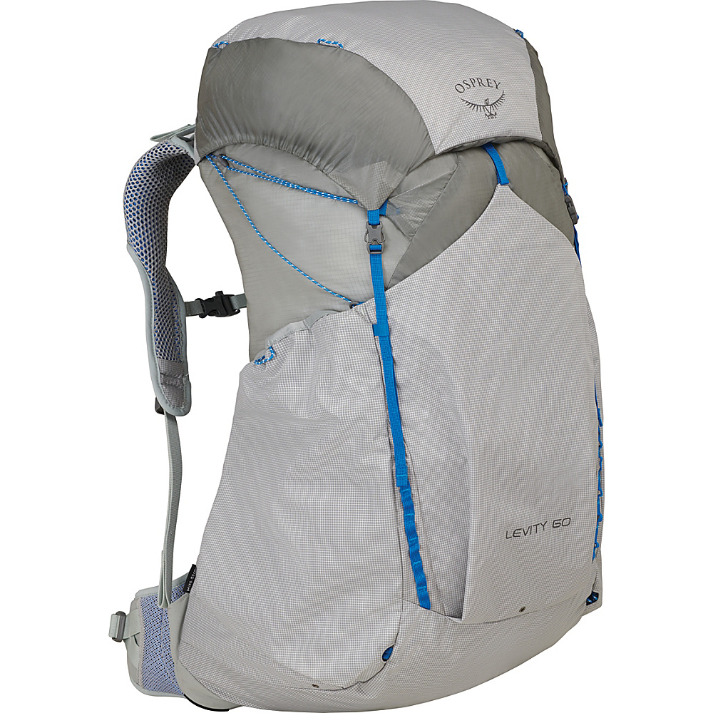 Osprey Levity 60 Hiking Backpack Parallax Silver – SM - Osprey Day Hiking Backpacks - Outdoor, Day Hiking Backpacks