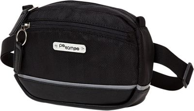 Po Campo Market Belt Bag Black Herringbone - Po Campo Waist Packs