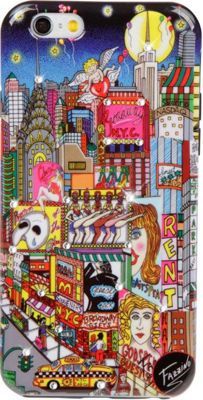 Charles Fazzino Broadway Musical iPhone 6/6S Case Multi Color - Charles Fazzino Electronic Cases