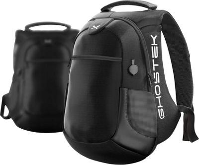 Ghostek NRGbag 2 Charging Laptop Tech Backpack Black - Ghostek Business & Laptop Backpacks