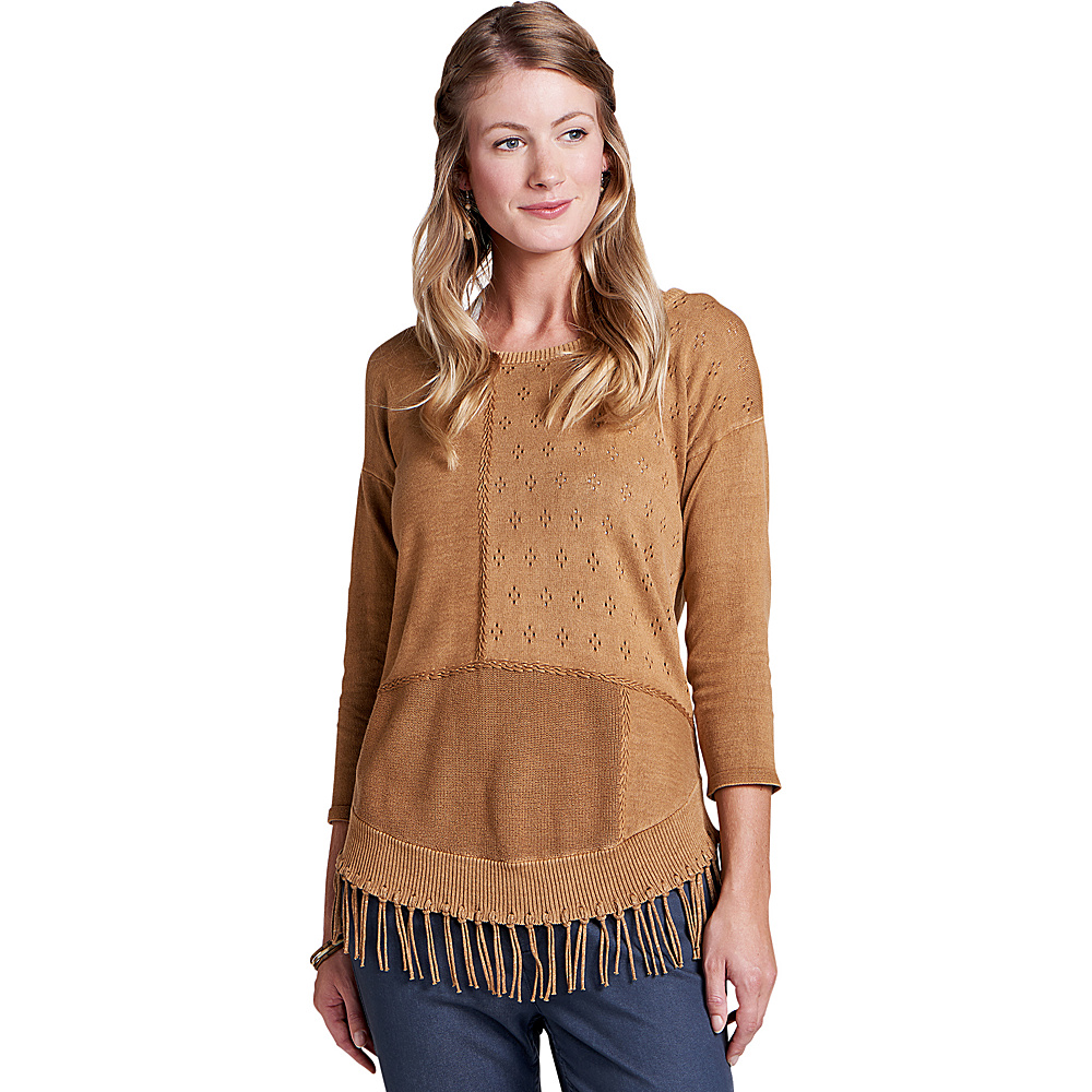 Toad & Co Womens Woodstock Pullover XS - Tabac - Toad & Co Womens Apparel - Apparel & Footwear, Women's Apparel
