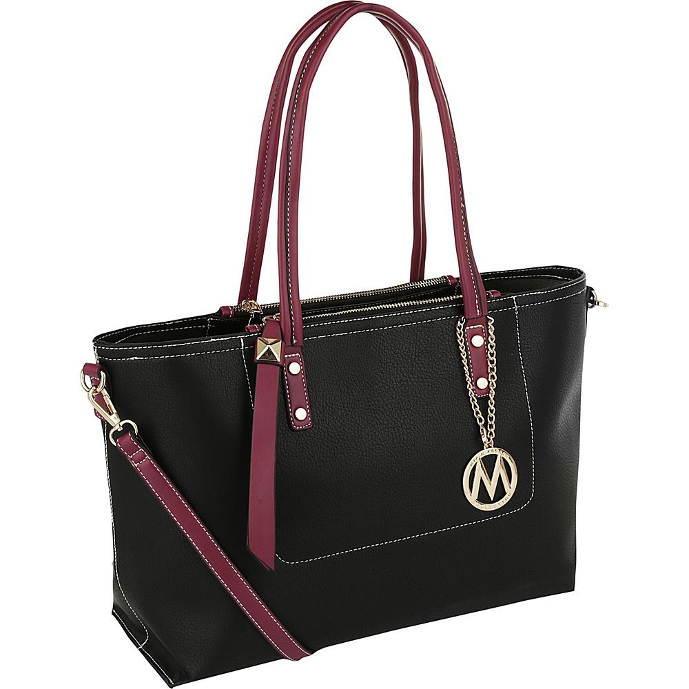 MKF Collection by Mia K. Farrow Sicilia Lightweight Tote Black - MKF Collection by Mia K. Farrow Manmade Handbags - Handbags, Manmade Handbags