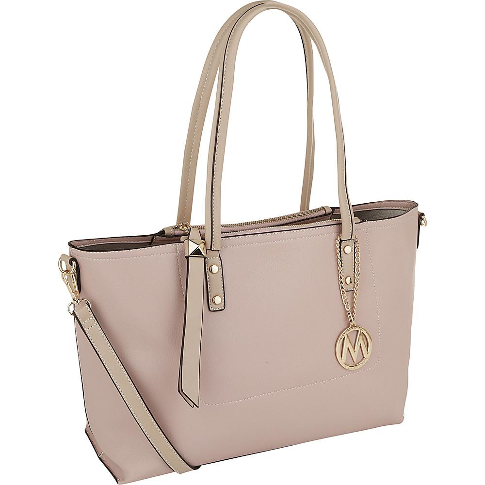 MKF Collection by Mia K. Farrow Sicilia Lightweight Tote Pink - MKF Collection by Mia K. Farrow Manmade Handbags - Handbags, Manmade Handbags