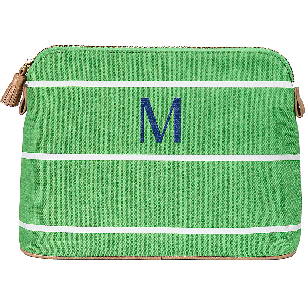 Cathys Concepts Monogram Cosmetic Bag Green - M - Cathys Concepts Toiletry Kits - Travel Accessories, Toiletry Kits