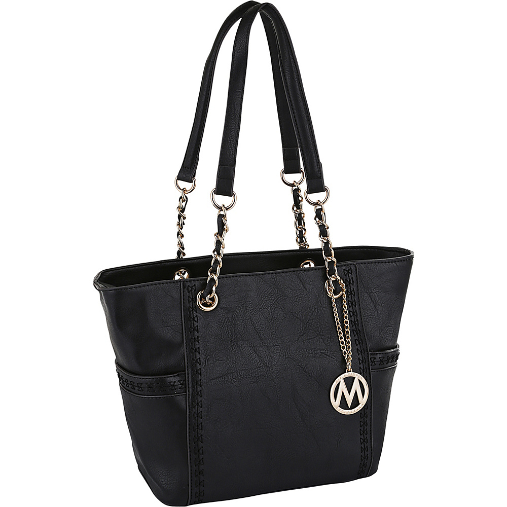 MKF Collection by Mia K. Farrow Gaby Hobo Black - MKF Collection by Mia K. Farrow Manmade Handbags - Handbags, Manmade Handbags