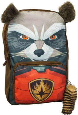 Marvel Guardians Of The Galaxy Rocket Laptop Backpack Brown - Marvel Business & Laptop Backpacks