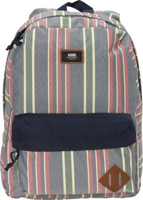 Vans Old Skool II Backpack Dress Blues Stripe - Vans Everyday Backpacks