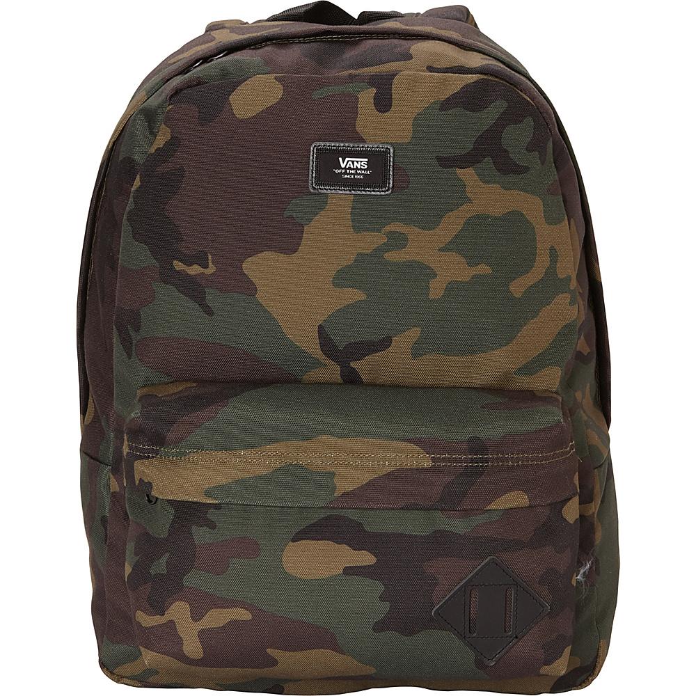 0095f2f2355c Vans Old Skool Travel Backpack Black