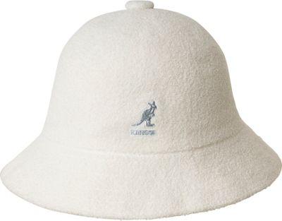 Kangol Bermuda Casual Hat M - White - Kangol Hats/Gloves/Scarves