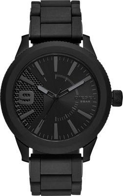 Diesel Watches Men's Rasp NSBB Three-Hand Black Stainless...