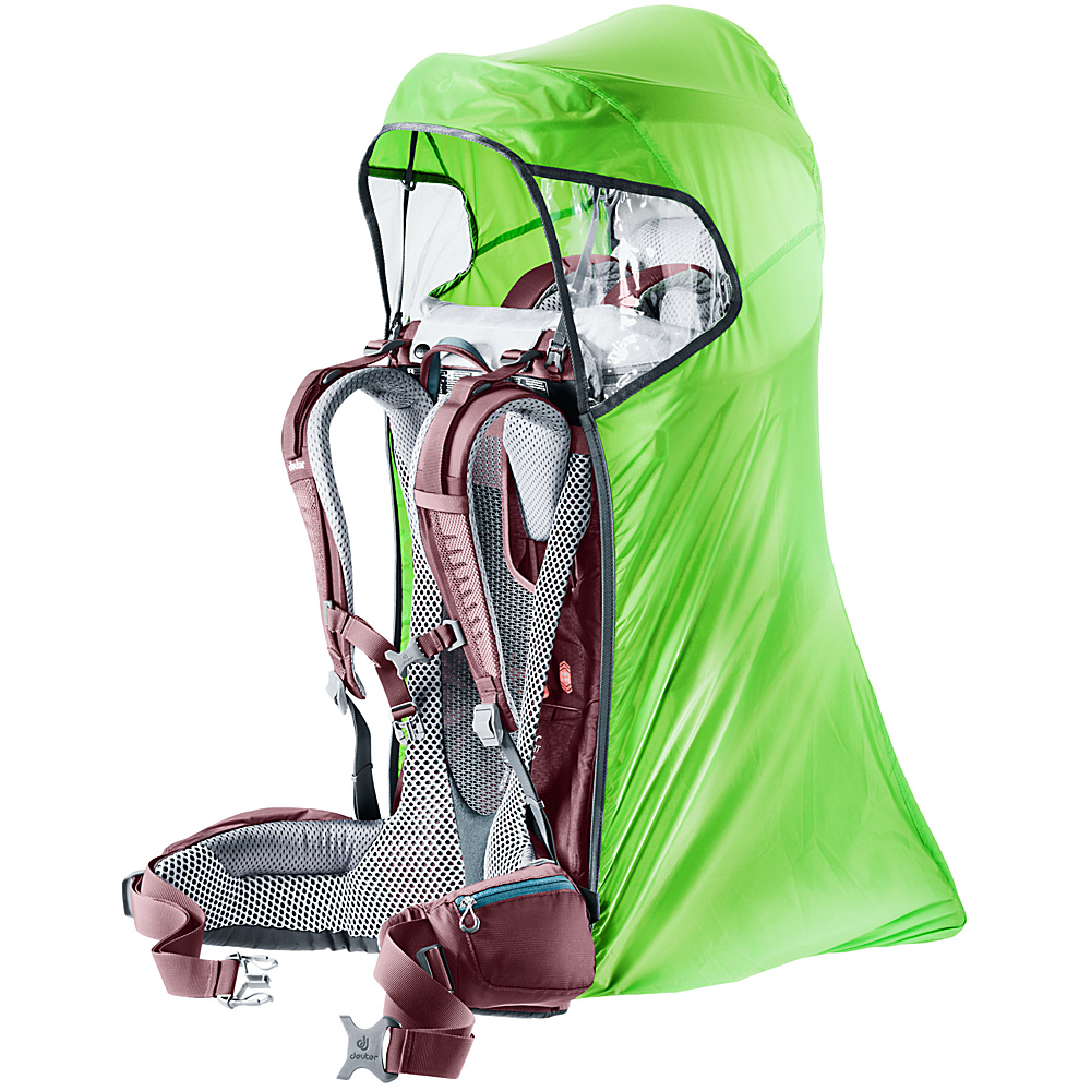 Deuter Kid Comfort Rain Cover Deluxe Kiwi - Deuter Baby Carriers Kid Comfort Rain Cover Deluxe Kiwi. The complete rain and wind protection for child carriers