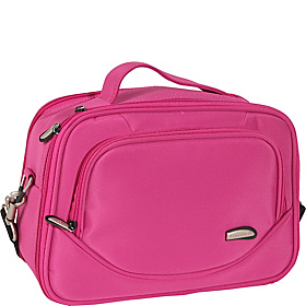 Mini Cosmetic Organizer Travel Case Fuchsia