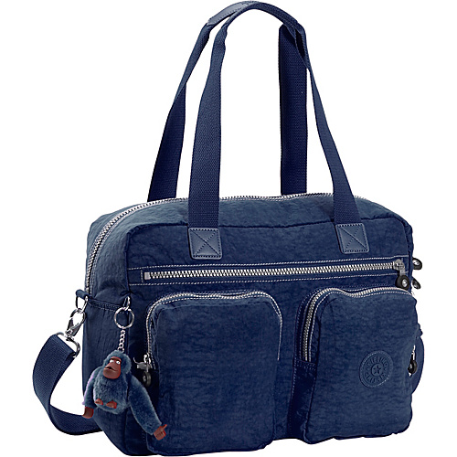 Kipling Sherpa Luggage Tote - Small - True Blue