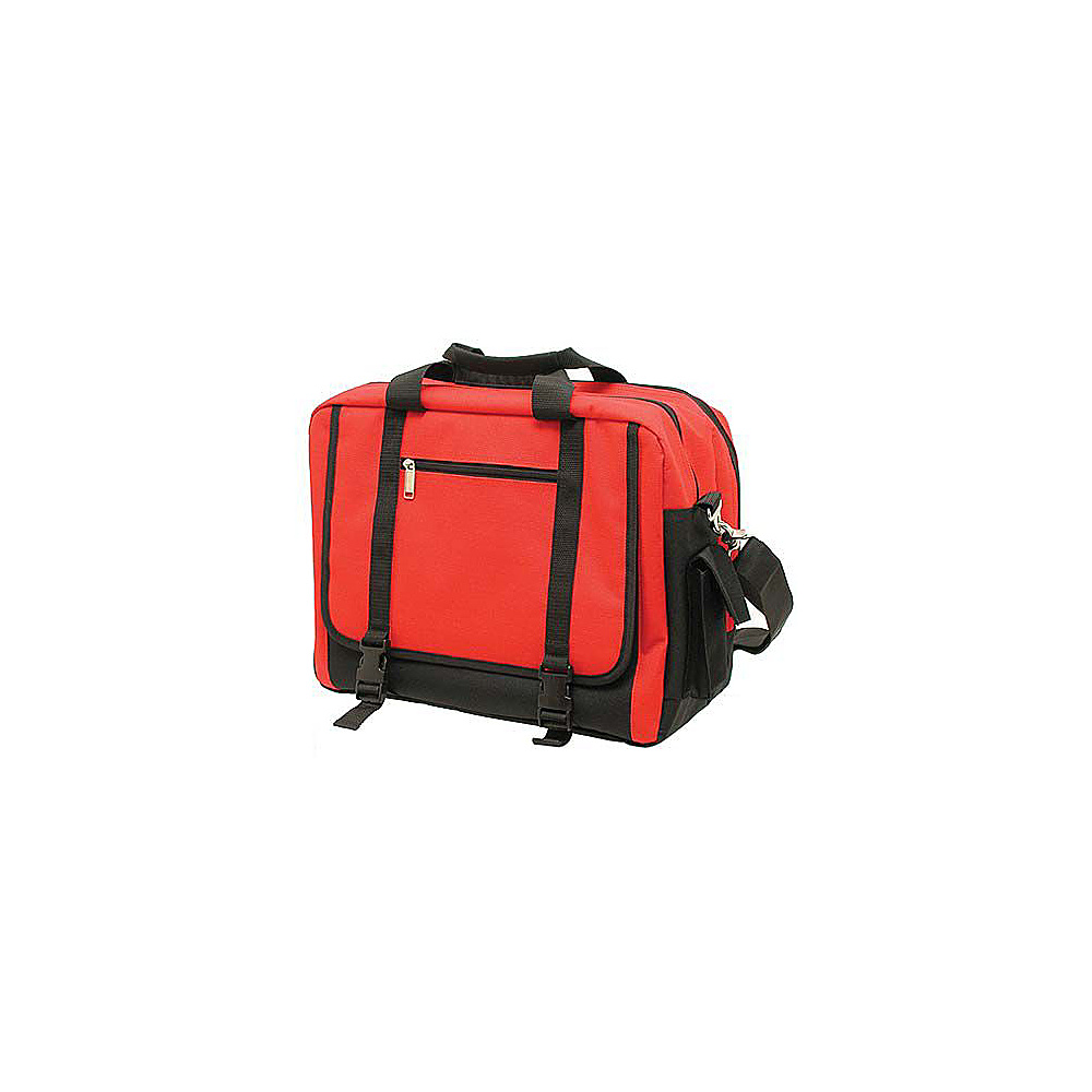Netpack Rip-Stop Comp Brief - Red - Work Bags & Briefcases, Non-Wheeled Business Cases
