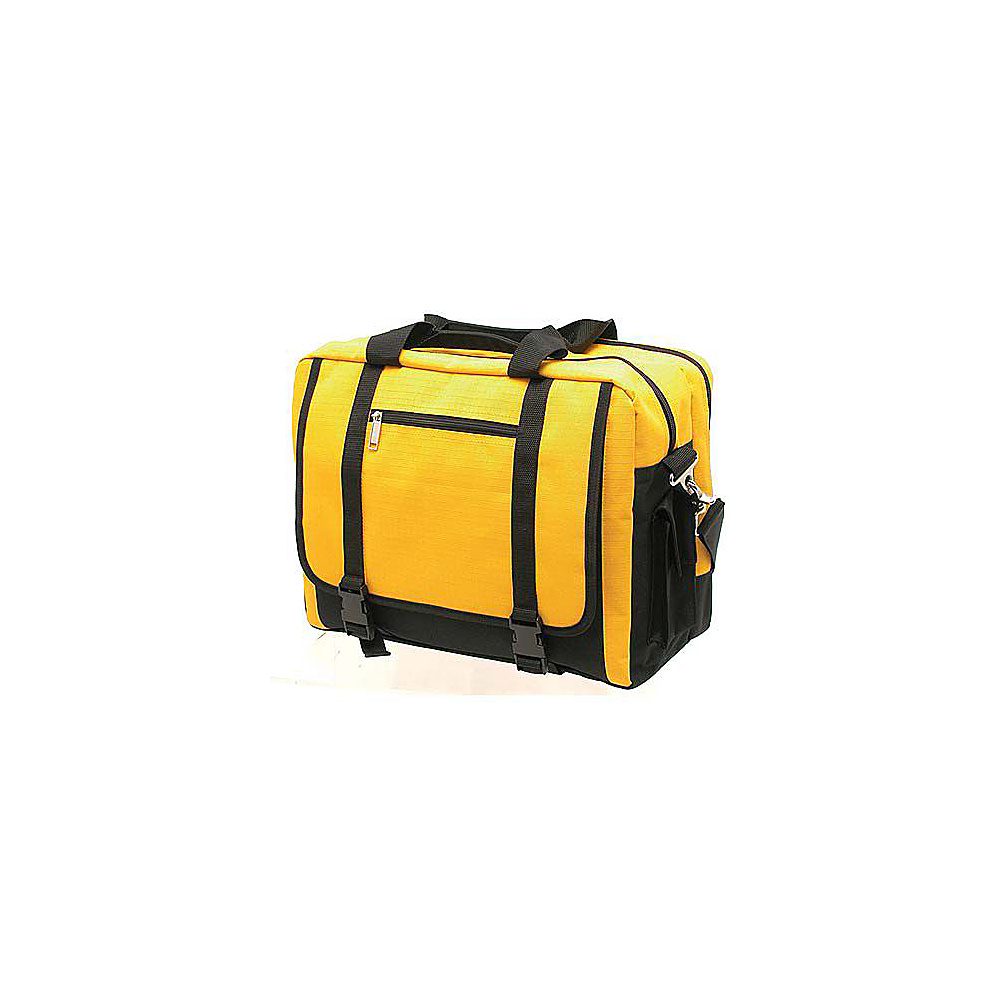 Netpack Rip-Stop Comp Brief - Yellow - Work Bags & Briefcases, Non-Wheeled Business Cases