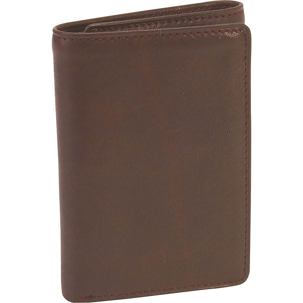 Osgoode Marley Cashmere ID Tri-Fold Wallet - Brandy - Work Bags & Briefcases, Men's Wallets