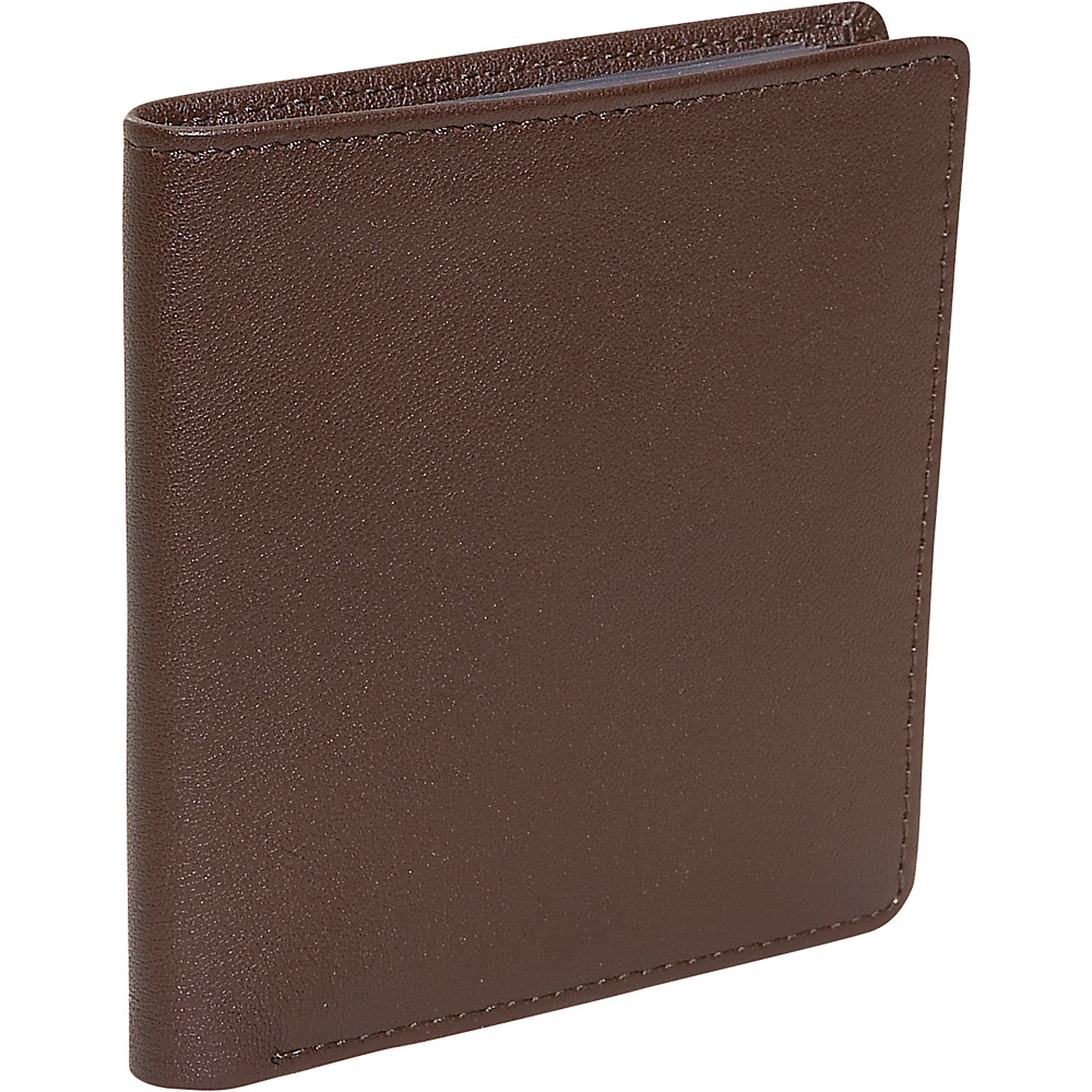 Royce Leather Mens Two Fold Wallet - Coco - Work Bags & Briefcases, Men's Wallets