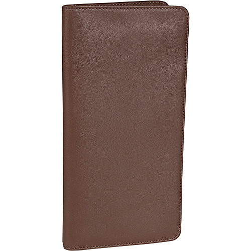 Royce Leather Checkpoint Passport - Coco