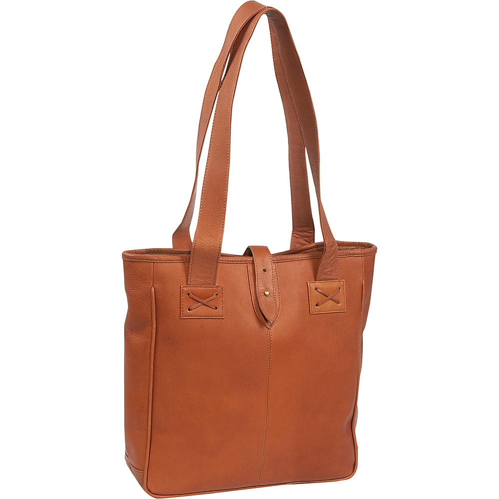 Clava Vachetta Small Shopper - Tuscan Tan - Handbags, Leather Handbags