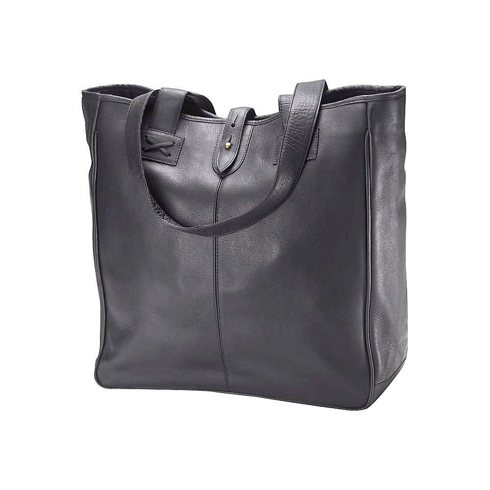 Clava Vachetta Small Shopper - Tuscan Black - Handbags, Leather Handbags