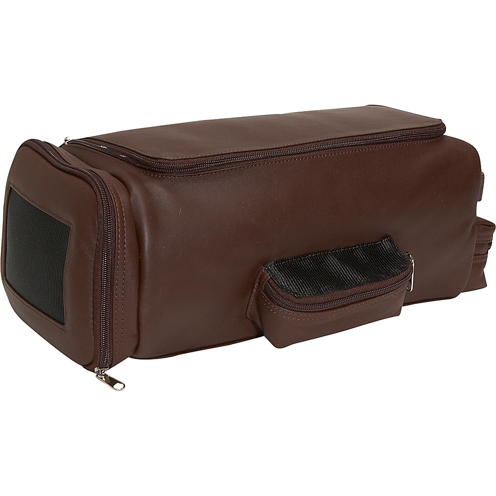 Royce Leather Golf Shoe & Accessory Bag - Coco