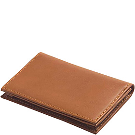 Color ID/Slim Wallet Bridle Tan
