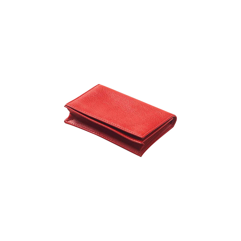 Clava Color ID/Slim Wallet - Red - Travel Accessories, Travel Wallets