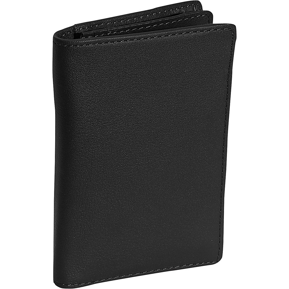Royce Leather Deluxe Note Jotter Organizer - Black - Work Bags & Briefcases, Business Accessories