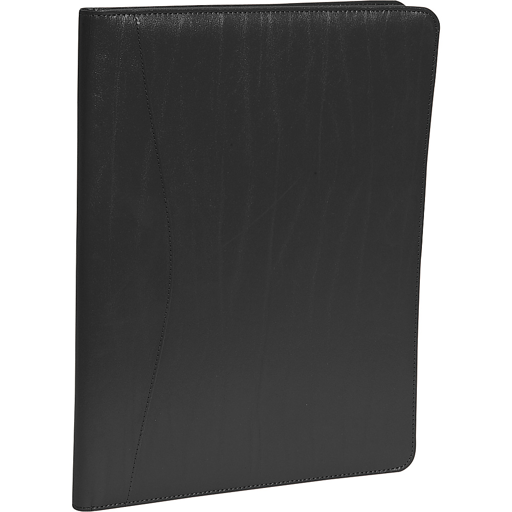 Royce Leather Padfolio - Black - Work Bags & Briefcases, Business Accessories