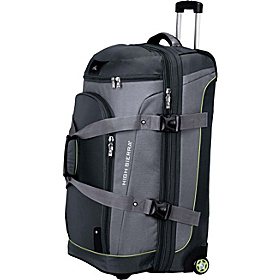 AT3 Sierra-Lite 32'' Drop-Bottom Wheeled Duffle Graphite/Titanium/Spring