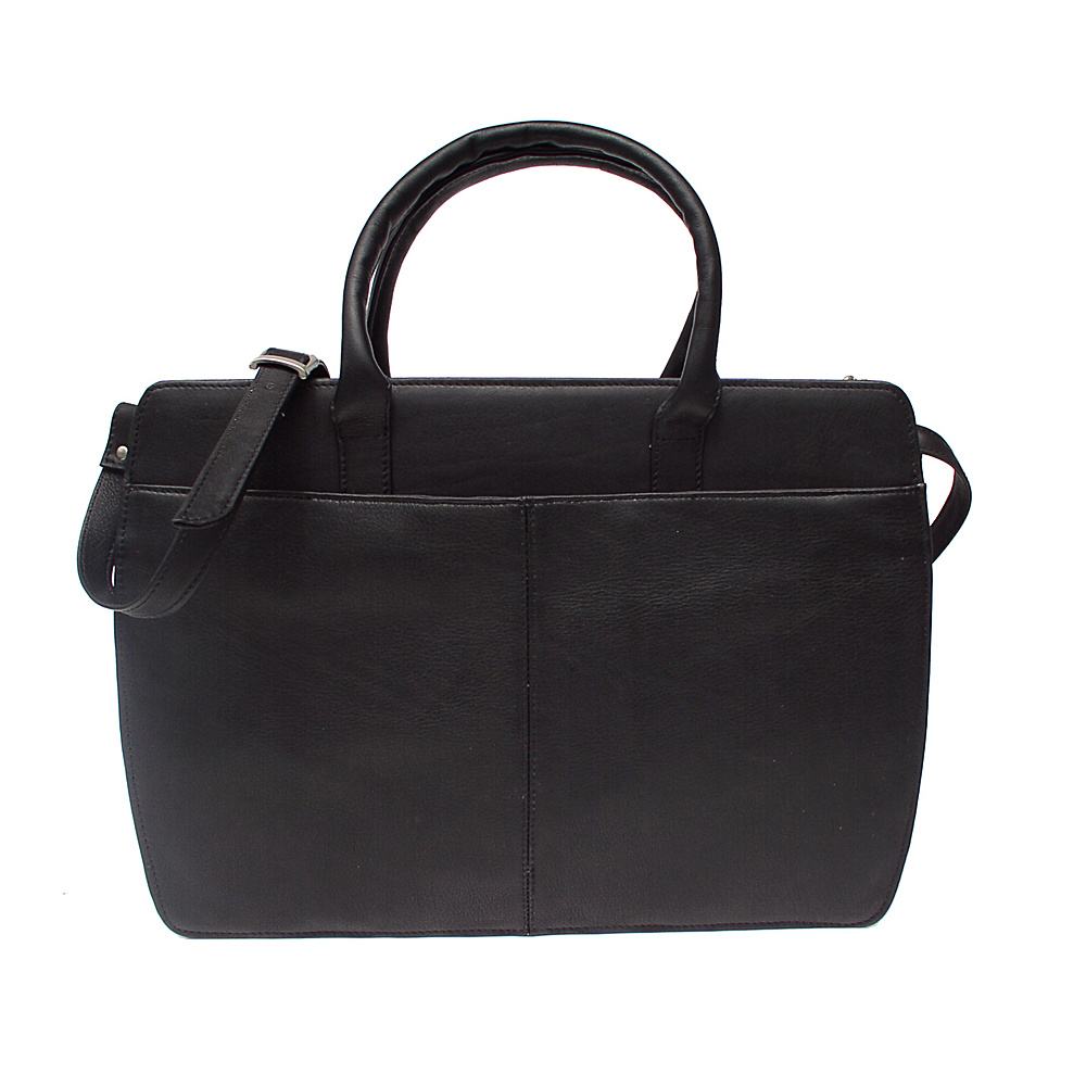 Piel Womens Portfolio - Black - Work Bags & Briefcases, Non-Wheeled Business Cases