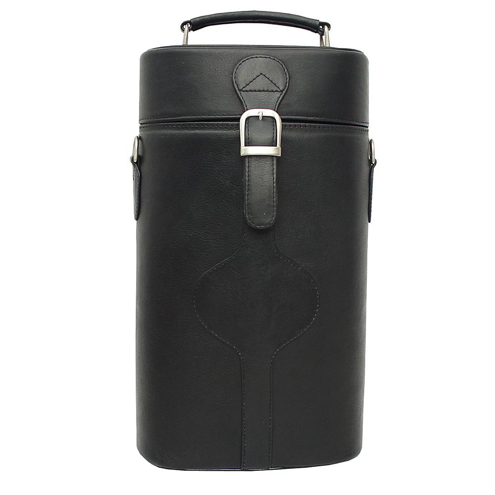Piel Double Deluxe Wine Carrier Black - Piel Outdoor Accessories - Outdoor, Outdoor Accessories