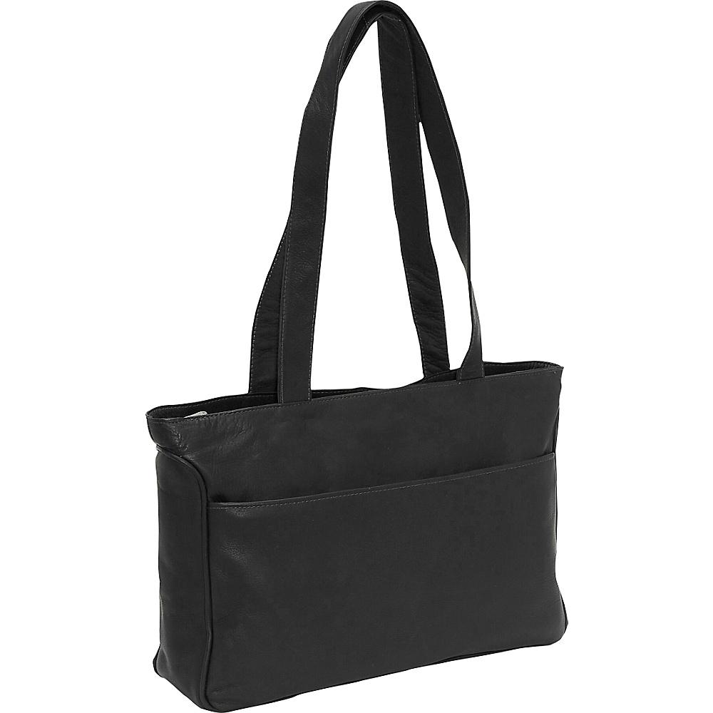 Piel Slim Tote - Black - Work Bags & Briefcases, Women's Business Bags