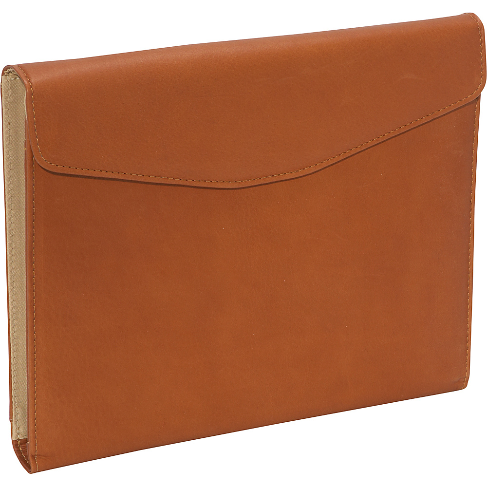 Piel Envelope Padfolio - Saddle - Work Bags & Briefcases, Business Accessories