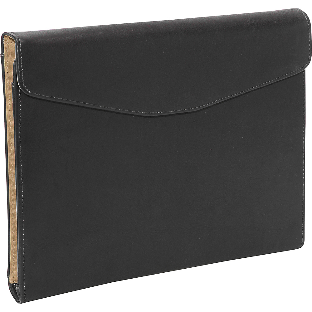 Piel Envelope Padfolio - Black - Work Bags & Briefcases, Business Accessories